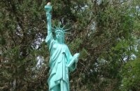 В Крыму можно увидеть Статую Свободы