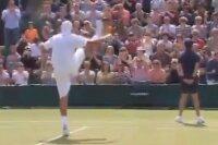 Тренеры польского теннисиста Лукаша Кубота посоветовали ему танцевать канкан