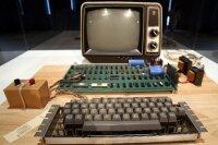 Компьютер Apple I был продан на  торгах за 387 тысяч долларов