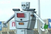 В Конго уличное движение контролируется роботом