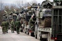 Эвакуация украинских военнослужащих с Перевальной базы в Крыму