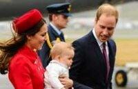 Британская королевская пара с сыном  поехала в Новую Зеландию
