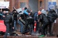 50 человек получили ранения в столкновении сепаратистов со сторонниками единства в Харькове