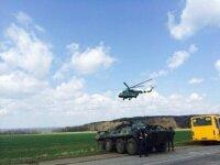 Сепаратисты утверждают, что в направлении Славянская движутся бронетранспортеры
