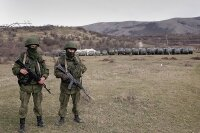 Задержана передача Украине вооружения из Крыма