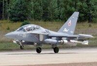 Катастрофа военного самолета Як-130 в России