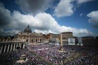 Прогноз погоды на канонизацию Иоанна Павла II в Риме